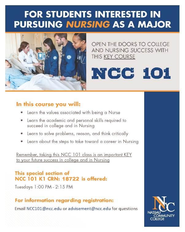 ncc 101 nursing