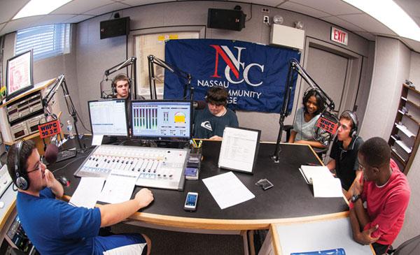 WHPC Radio Booth